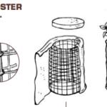 Schema Di Costruzione di una Compostiera per Compostaggio Domestico 'Fai Da Te'